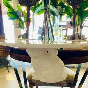 Target Large Bunny Cake Stand Riser